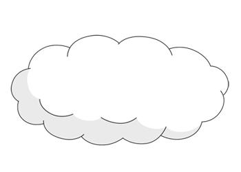 Dessin de nuage 9 - Nuages dessin ...