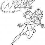 dessin de winx club