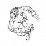 dessin de x-men