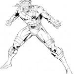 dessin de x-men imprimer