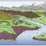 illustration de geographie