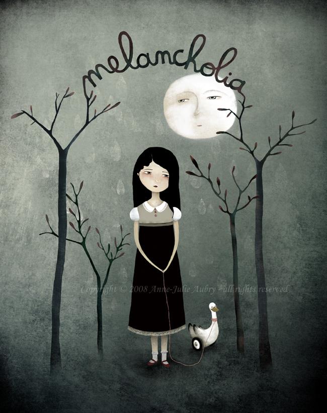 illustration de melancholia