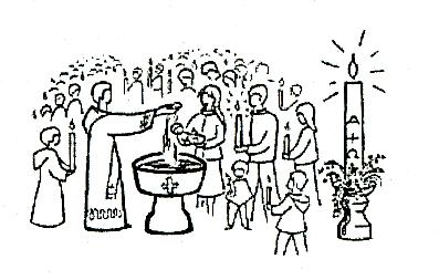 Dessin Baptême Catholique image de bapteme (3)