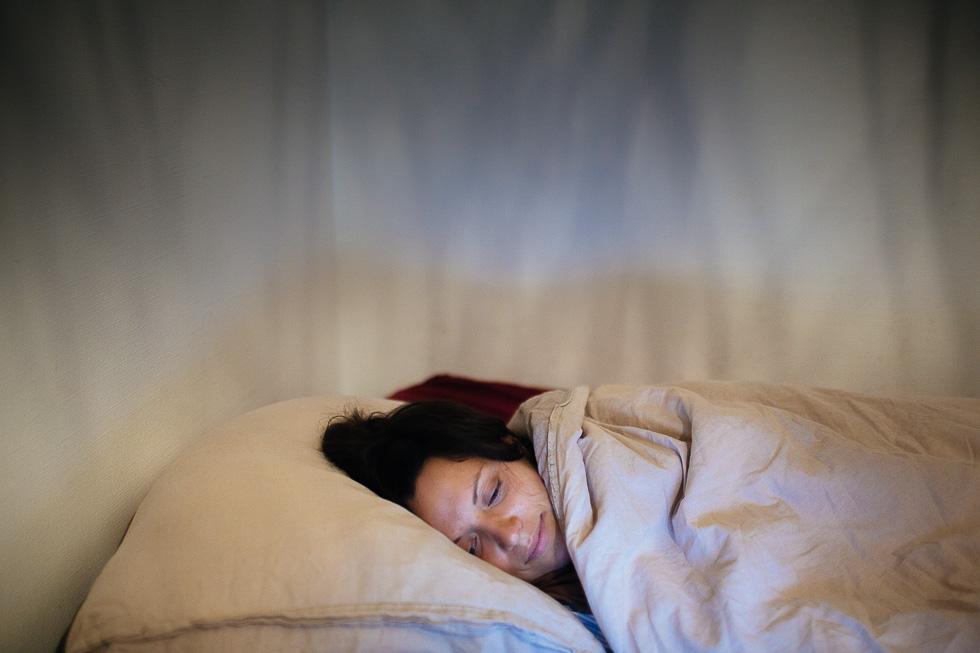 image de quelqu un qui dort