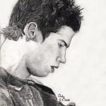 dessin de c.ronaldo 2010