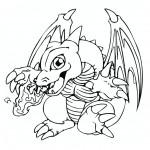 dessin de dragon a imprimer