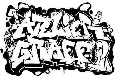 dessin de graffiti 2 - Dessin Graffiti