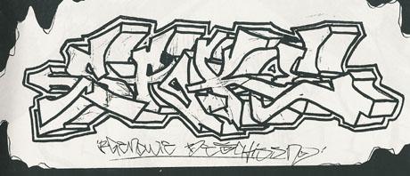 dessin de graffiti 5 - Dessin Graffiti