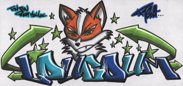 dessin de graffiti 8 - Dessin Graffiti