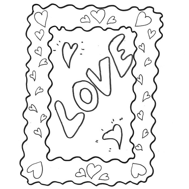 Dessin de i love you 9 - Coloriage d amoureux ...