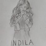 dessin de indila