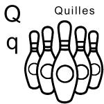 dessin de quille