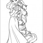dessin de raiponce