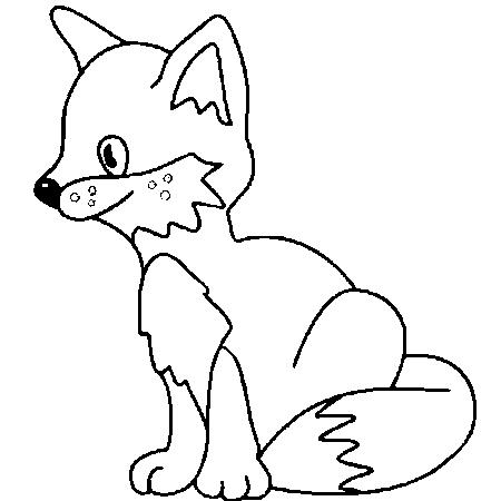 Dessin de renard - Dessin renard ...