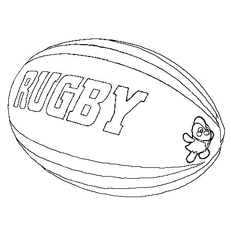 Dessin de rugby 6 - Dessin de ballon ...