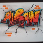dessin de tag