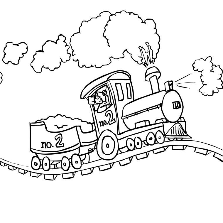 dessin de train (7)