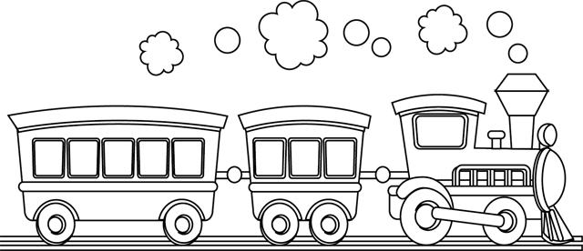 Dessin de train 8 - Dessin de train a imprimer ...