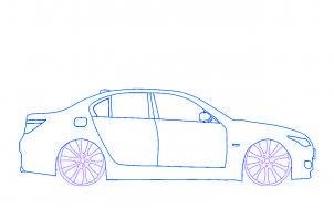 Dessin de voiture facile 7 - Voiture simple a dessiner ...