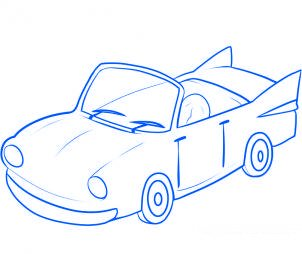 Dessin de voiture facile - Dessin de voiture simple ...
