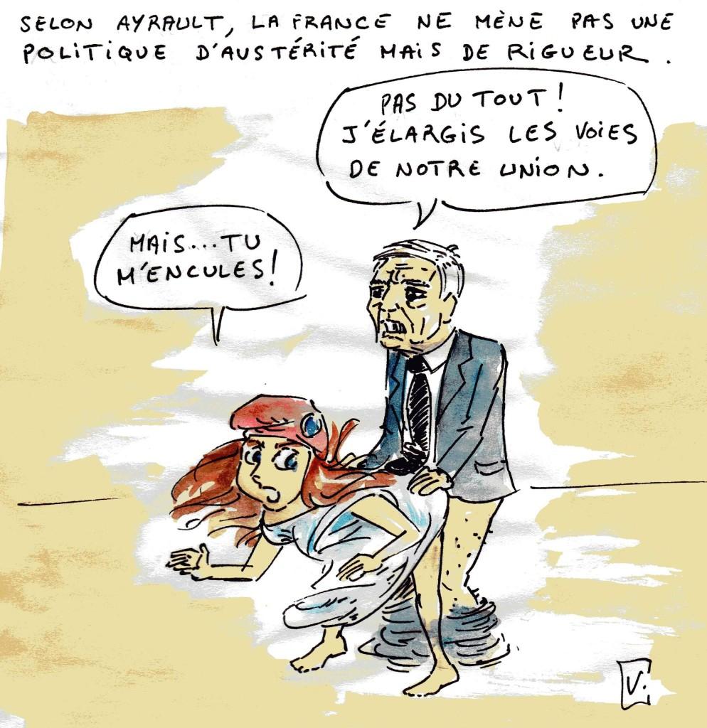 dessin humoristique sur la politique