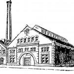 dessin usine