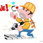 illustration accident de travail