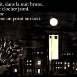 illustration de ballade a la lune