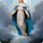 image de la vierge marie