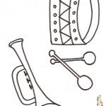 dessin d instrument de musique
