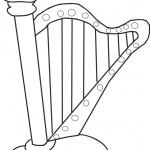 dessin d instrument de musique a imprimer