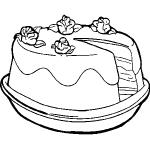 dessin de gateau