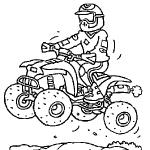 dessin de quad