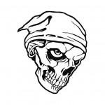 dessin de tete de mort