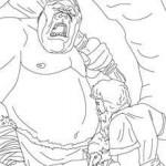 dessin de ulysse et le cyclope