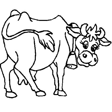 Dessin de vache - Dessin vache facile ...