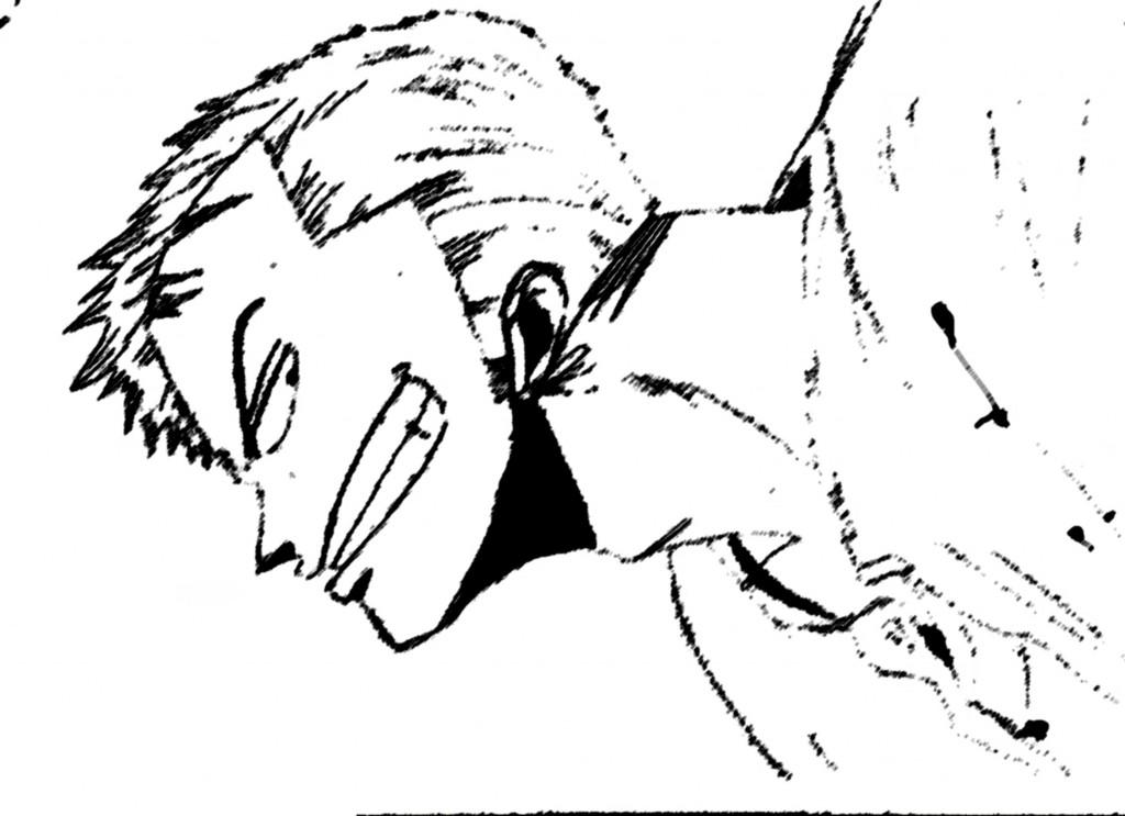 dessin de zoro