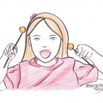 illustration de fille