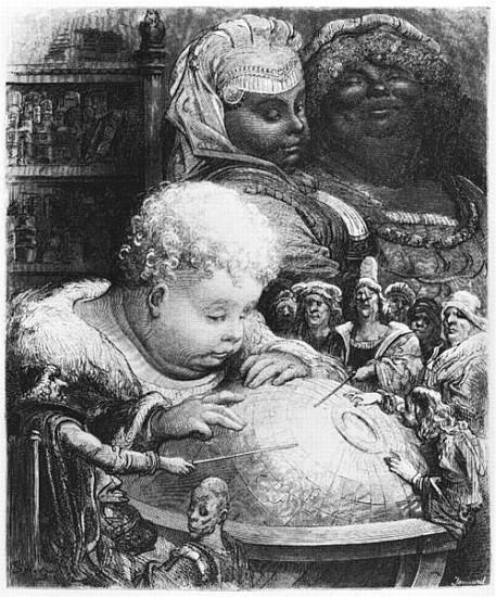 illustration de gargantua