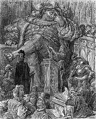 illustration de gargantua