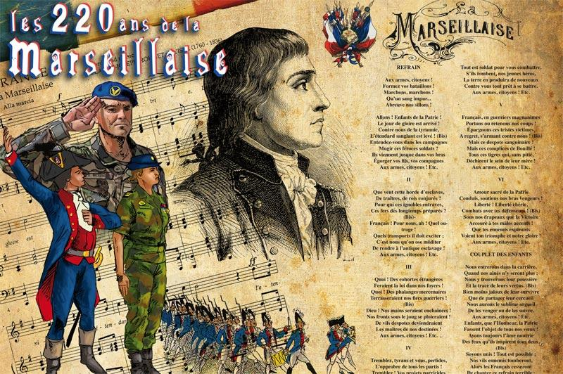 illustration de la marseillaise