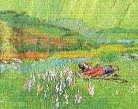 Illustration de sensation d arthur rimbaud 6 - Arthur rimbaud le dormeur du val analyse ...
