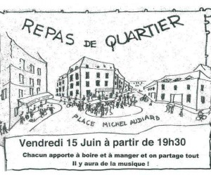 illustration repas de quartier